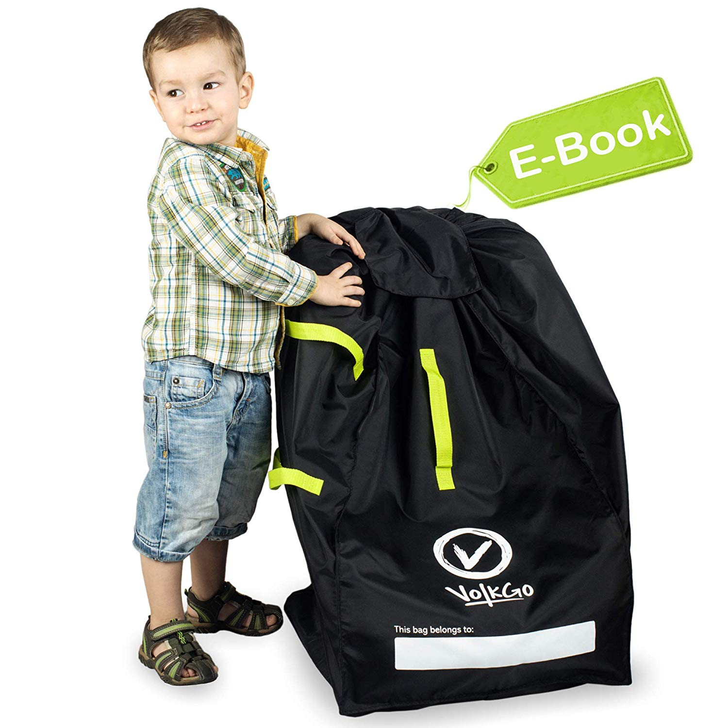 Durable Car Seat Travel Bag